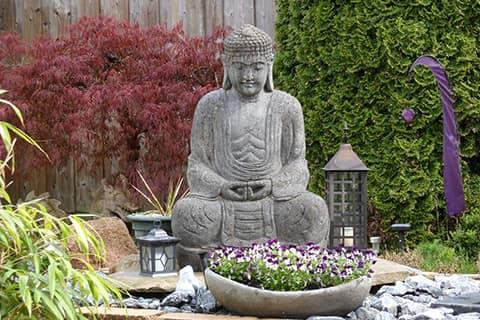 déco pour jardin zen