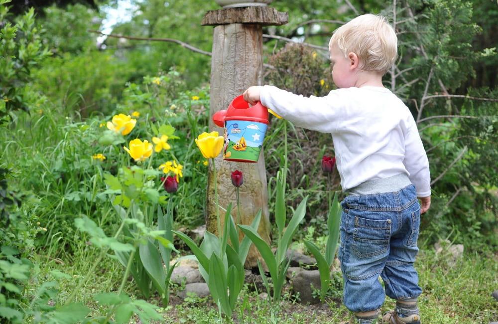 aménager jardin pour les enfants