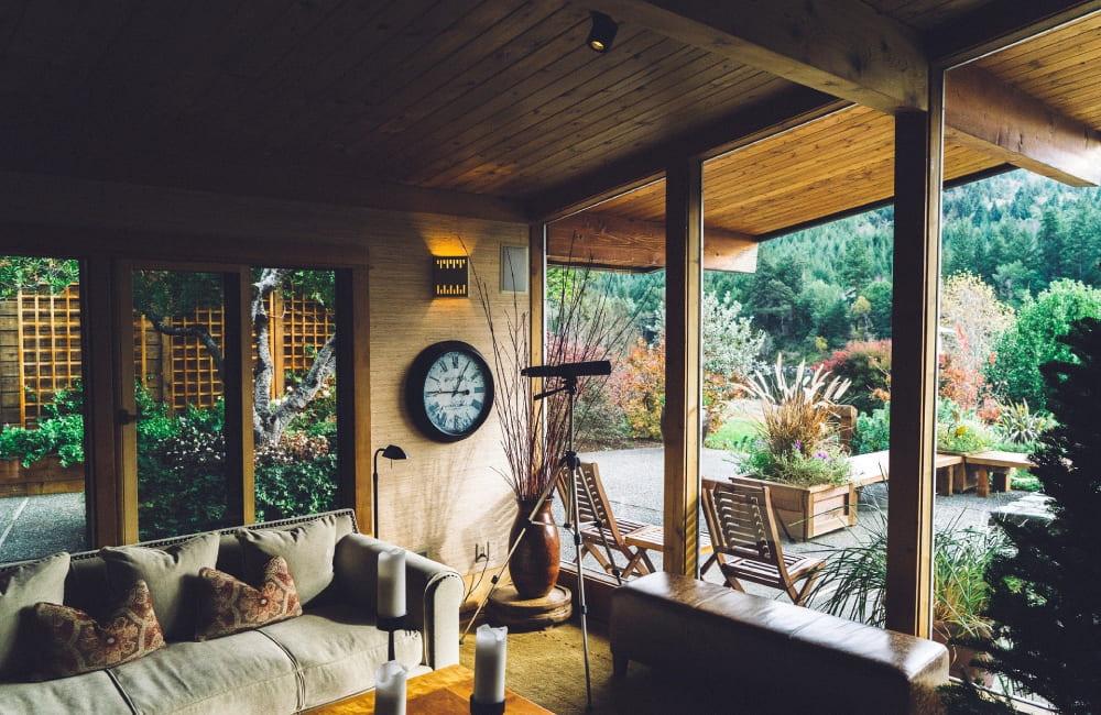 aménager sa veranda
